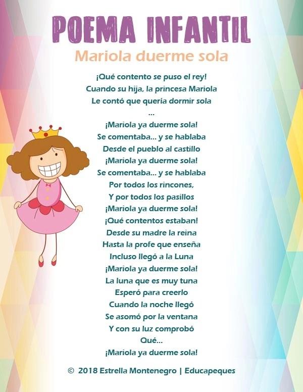 Poema De Princesas Imprimir