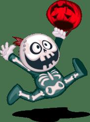 Esqueleto 2 Halloween