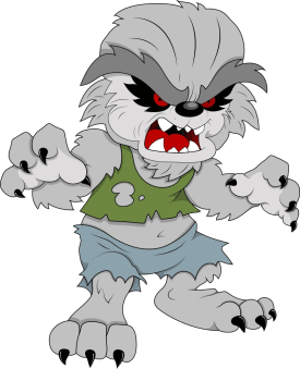 Hombre Lobo Halloween