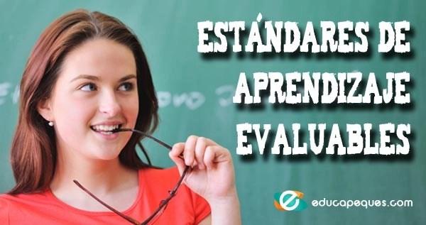 Estándares de Aprendizaje Evaluables