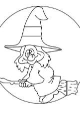 dibujo de bruja