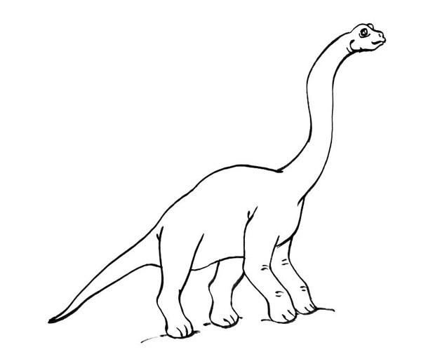 Diplodocus colorear