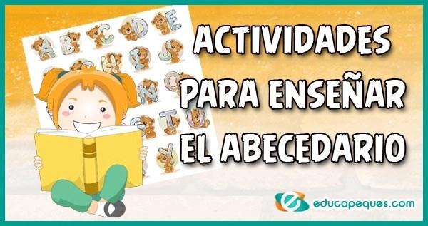 Como enseñar de forma divertida el abecedario, aprender el abecedario, actividades abecedario