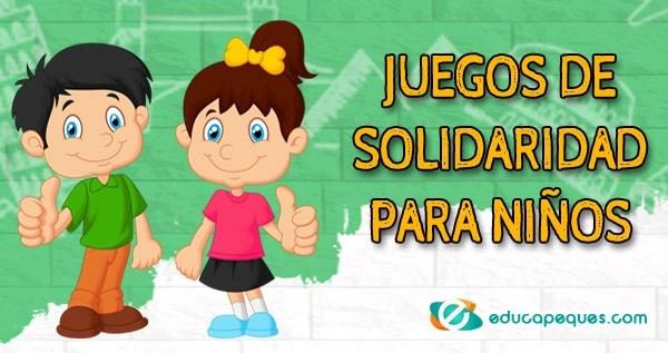 Juegos De Solidaridad Para Ninos Recursos Educativos Educapeques