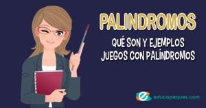 Palíndromos