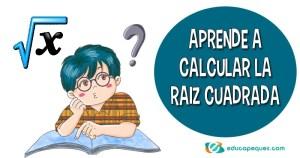 calcular raíz cuadrada