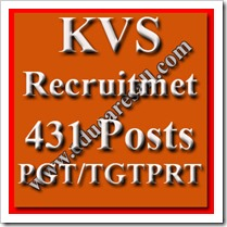 PRT- TGT- PGT Post Recruitment By KVS