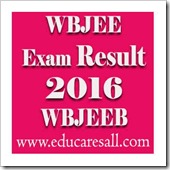 BE & BPharm Exam Result 2016 Publishedby WBJEEB