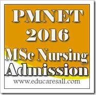 PMNET 2016 Exam for Admission to MSc Nursing Courses in BFUHS Punjab