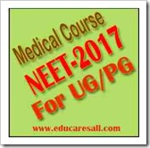 National Eligibility cum Entrance Exam 2017 for MBBS-BDS Admission