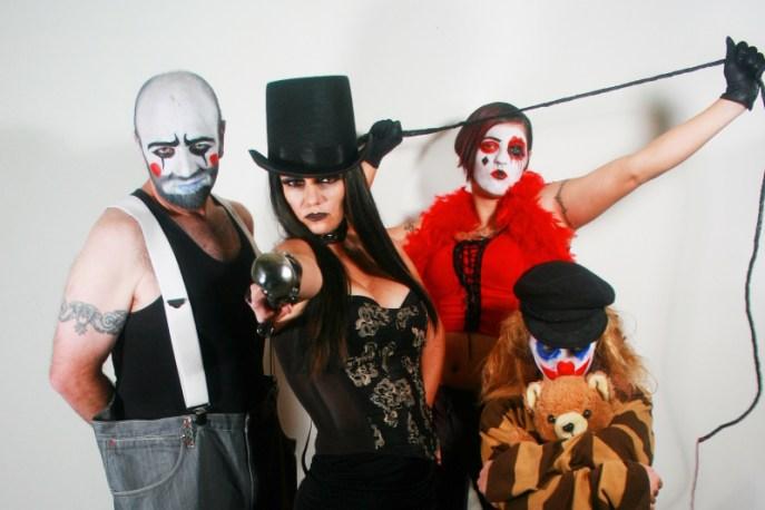 Clown Family Photo
