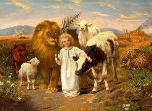 Lion, Lamb, Child