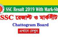 ssc result 2019 Chattogram board