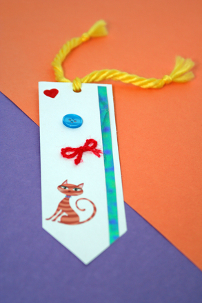 Make Your Own Bookmark Activity