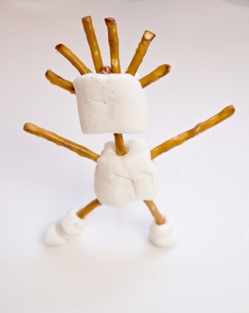 Marshmallow Sculpture