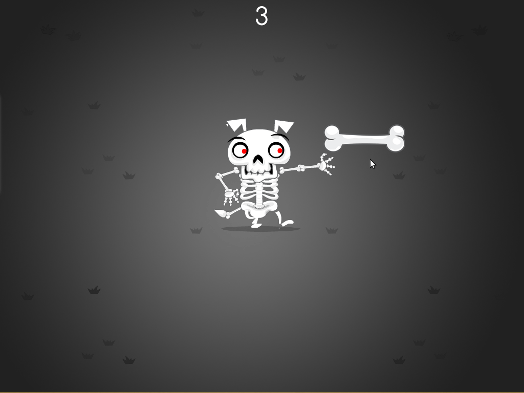 Skeleton Bone Catcher Game