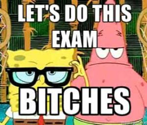 spongebob exam