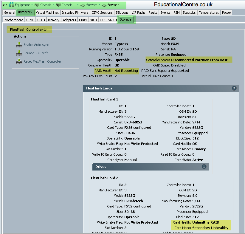 Deploy a Cisco UCS system - Part 3 - from scratch for VMware