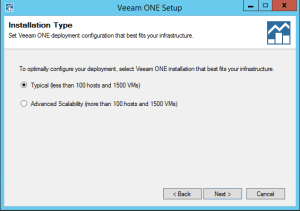 42 - Veeam ONE Select database size