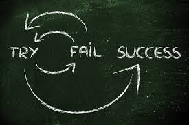 success and failure circle