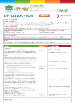 Primary Lower KS2 Key Stage 2 Geography Human and Physical ...
