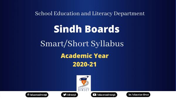 Sindh Boards Smart Syllabus