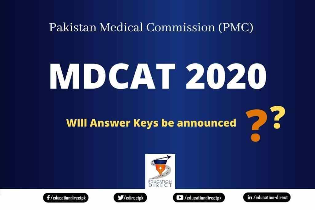 MDCAT 2020 Answer Keys