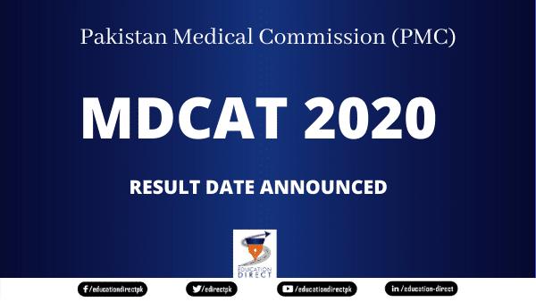 Result Date MDCAT 2020