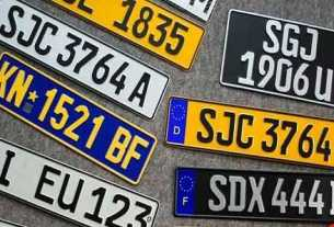 Do you know how many types of number plates are in India?