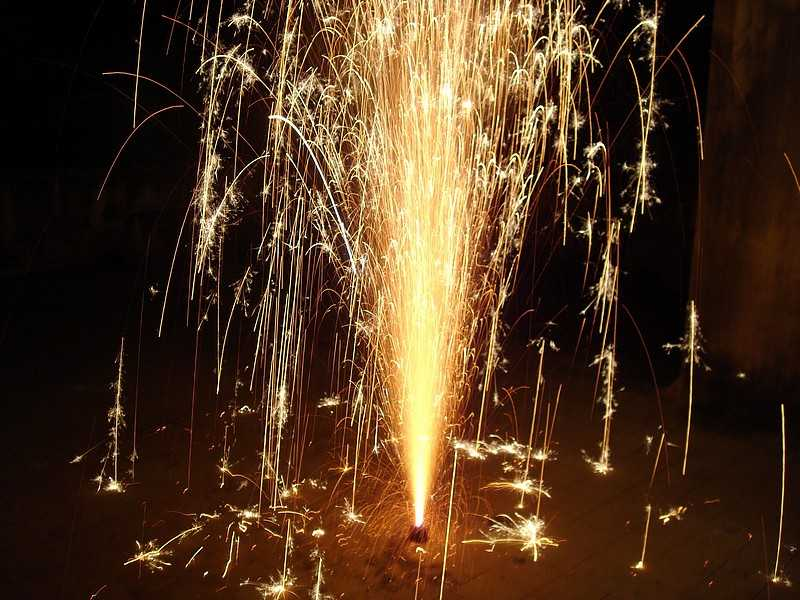 When and how did fireworks invent