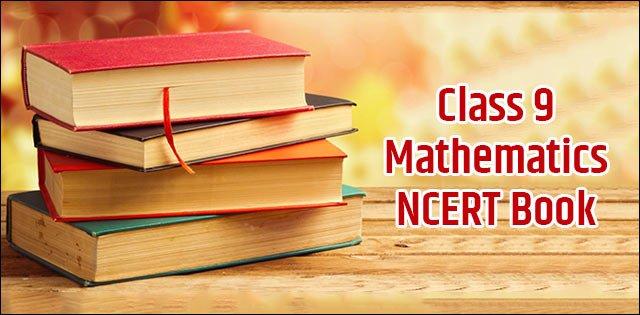 class 9 maths book