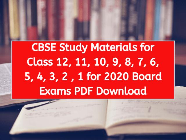 CBSE-Study-Material