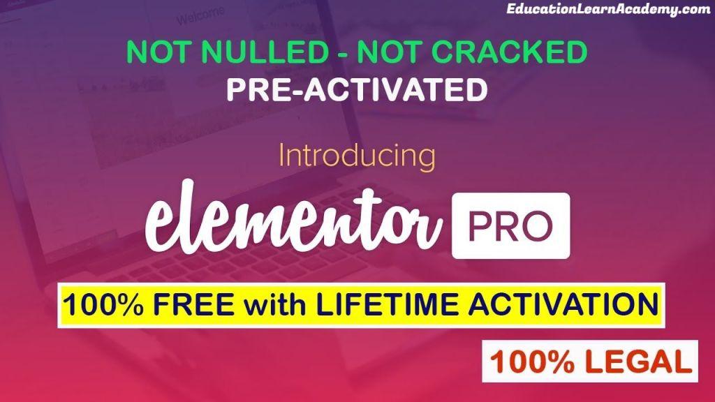 Free Download Elementor Pro