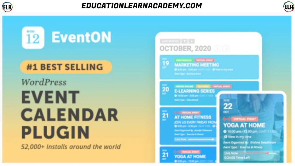 Free Download EventON Latest Version [With Addons]