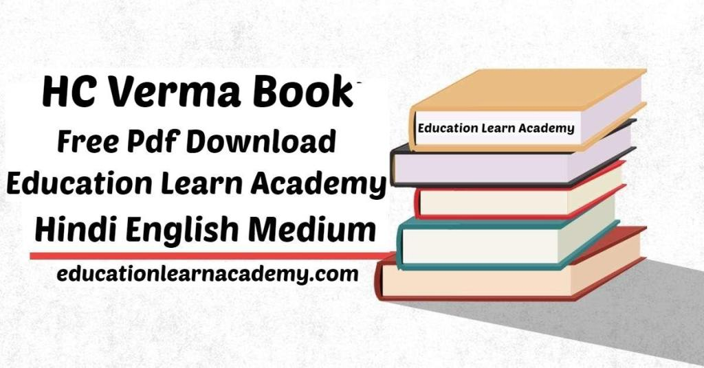 HC Verma Book PDF Free Download