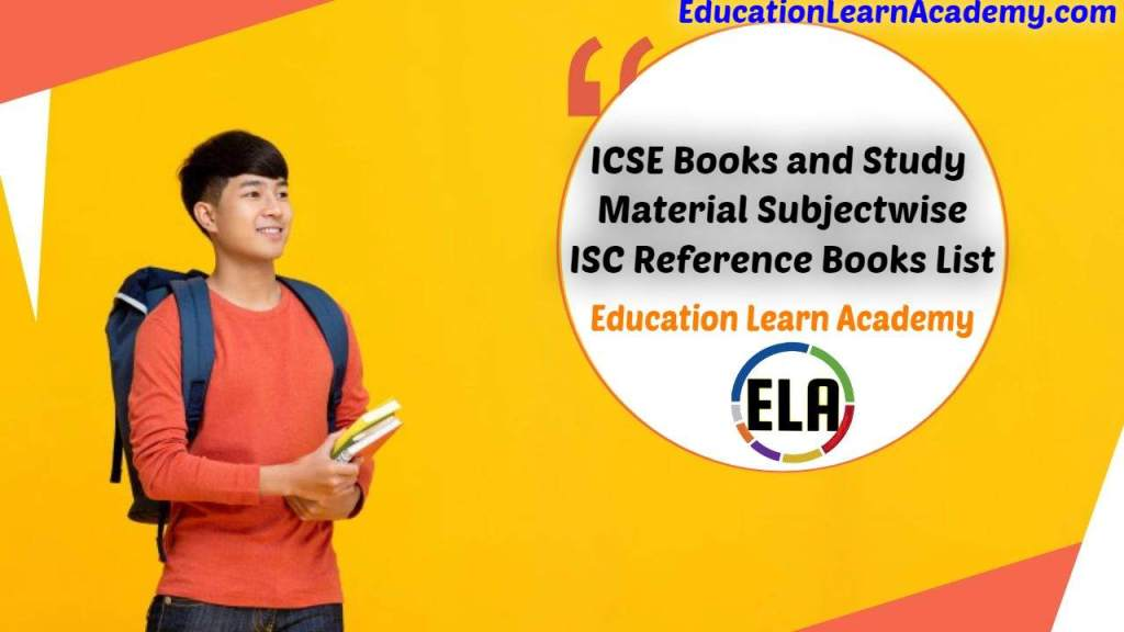 ICSE Books and Study Material Subjectwise _ ISC Reference Books List