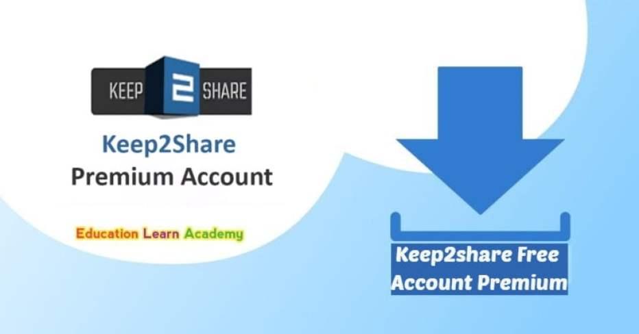 Keep2share Free Account Premium free
