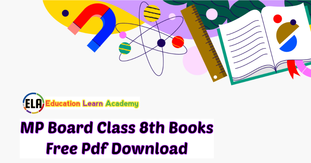 MP Board Class 8th Books Free Pdf Download
