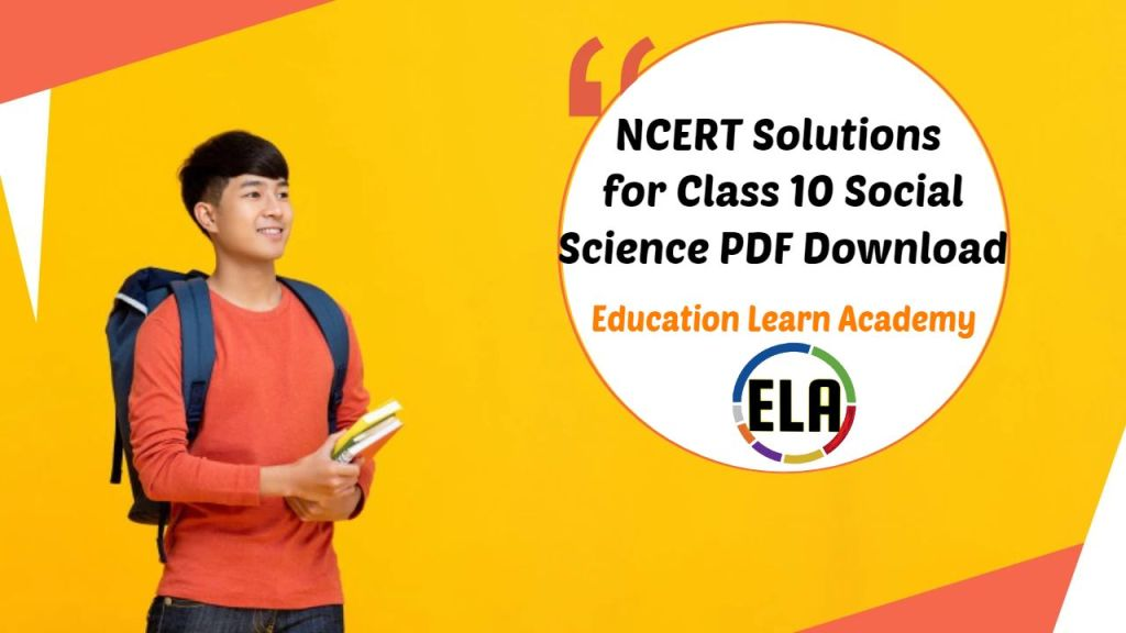 NCERT Solutions Class 10 Social Science PDF