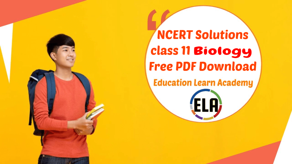 NCERT Solutions class 11 Biology Free PDF Download