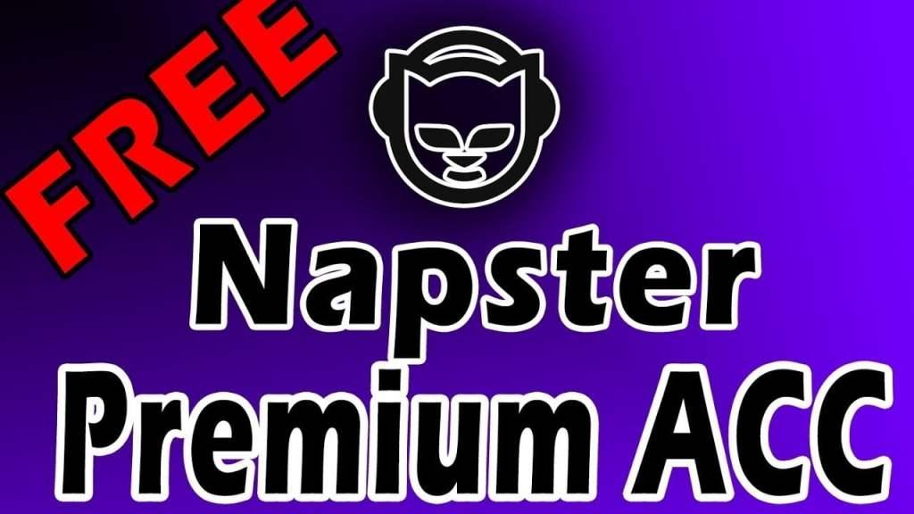 Napster Premium Music Accounts