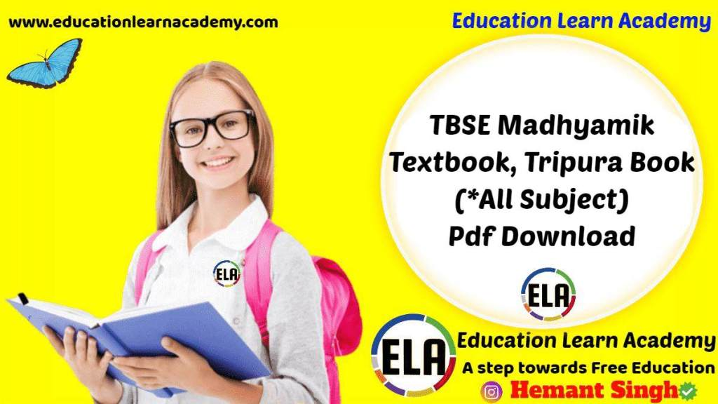 TBSE Madhyamik Textbook, Tripura Book (_All Subject) Pdf Download