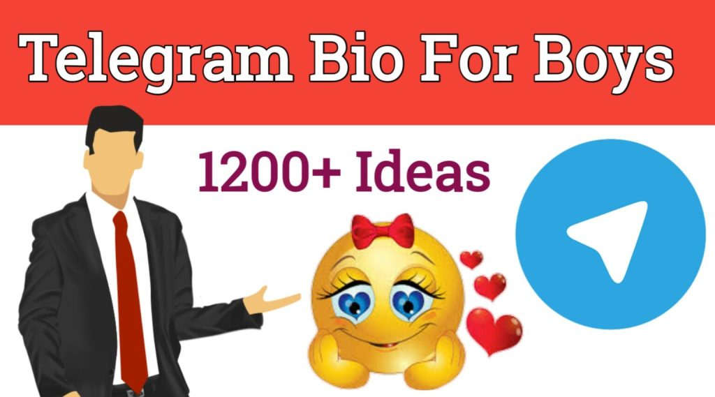 Telegram Bio for Boys In Hindi & English-1200+Best Idias