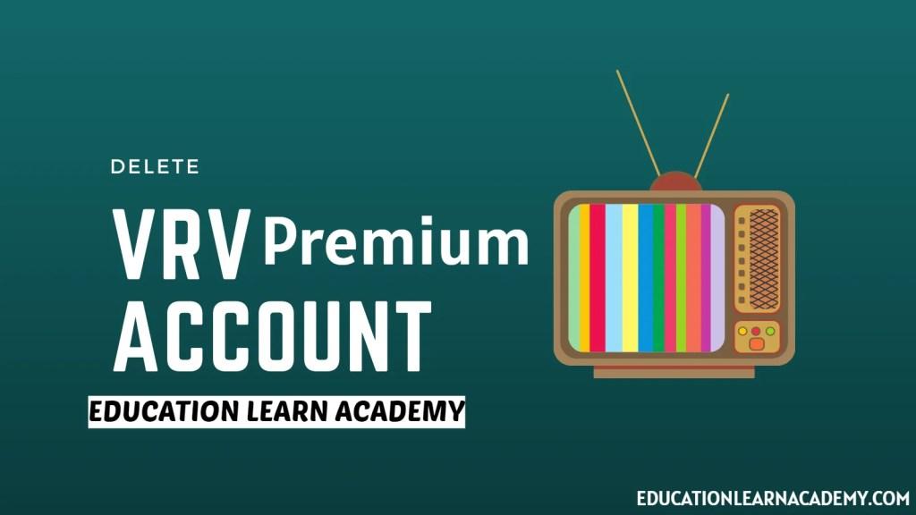 VRV Premium Account & Password [100% Working]