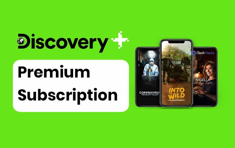 discovery plus premium accounts free