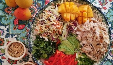 Rip-rawing salads we love: Mango chicken salad