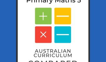 Singapore maths level 5 and Australian Curriculum compared