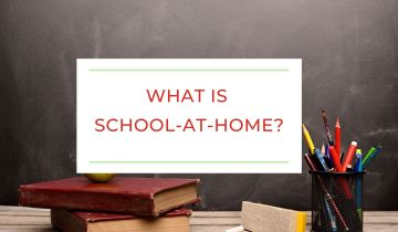 What is school-at-home homeschooling?