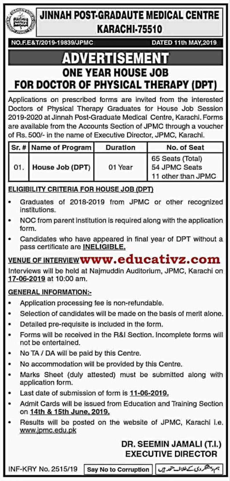 Karachi Jobs 2019