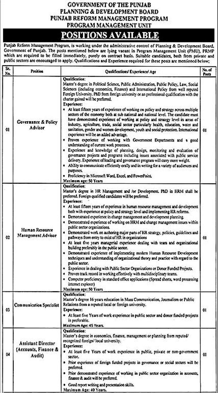 Punjab Job